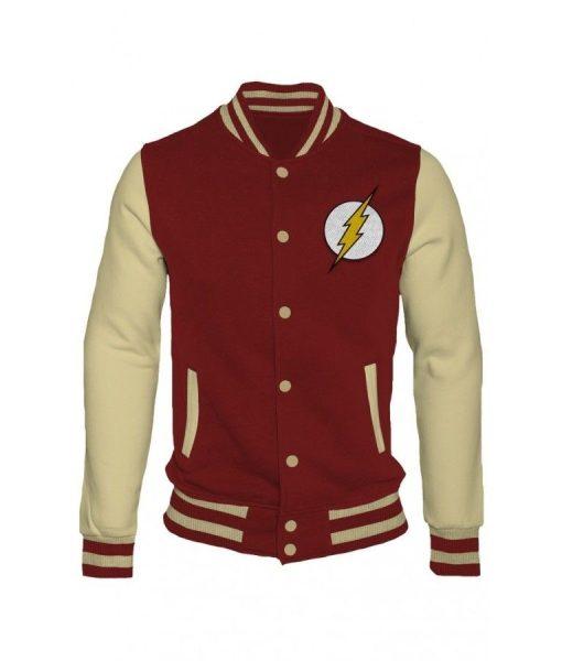 The Flash Letterman Varsity Jacket