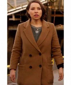 The Flash Nora West Allen Brown Coat