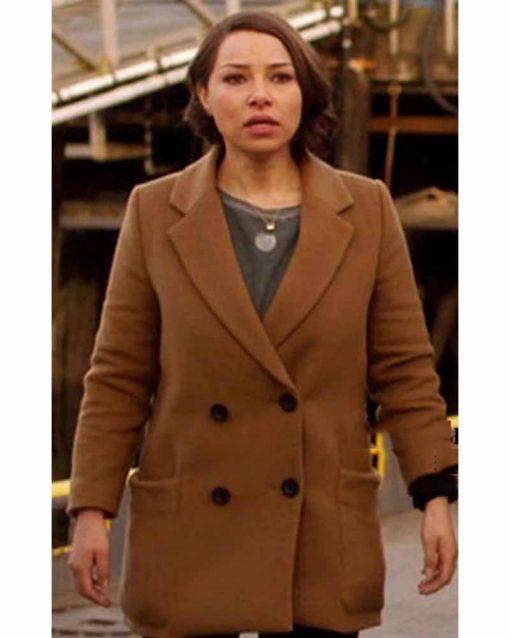 The Flash Nora West Allen Brown Coat