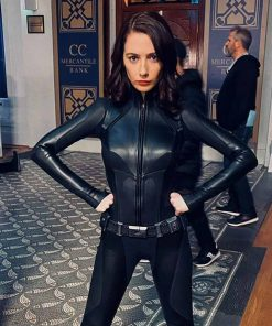 The Flash Sue Dearbon Leather Jacket