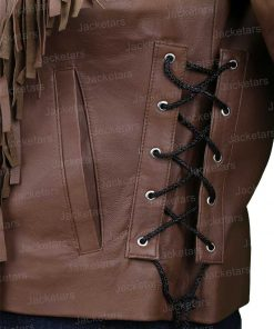 Tiger King Mayhem Madness leather brown Jacket.jpg