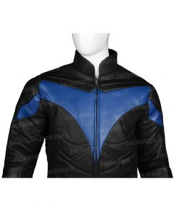 Titans Nightwing Leather front Jacket.jpg