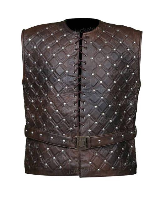 Vikings Bjorn Lothbrok Leather Vest