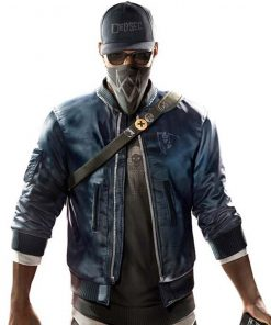 Watch Dogs 2 Marcus Holloway bomber Jacket