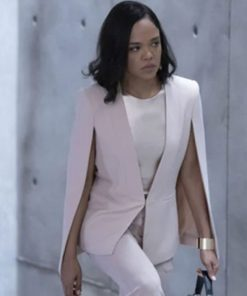 Westworld Tessa Thompson Pink Coat
