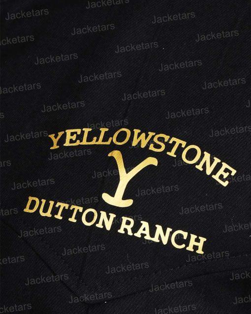 YellowstoneJohnDuttonBlackVest