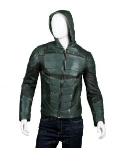 Arrow Seasons 5 Stephen Amell Jacket