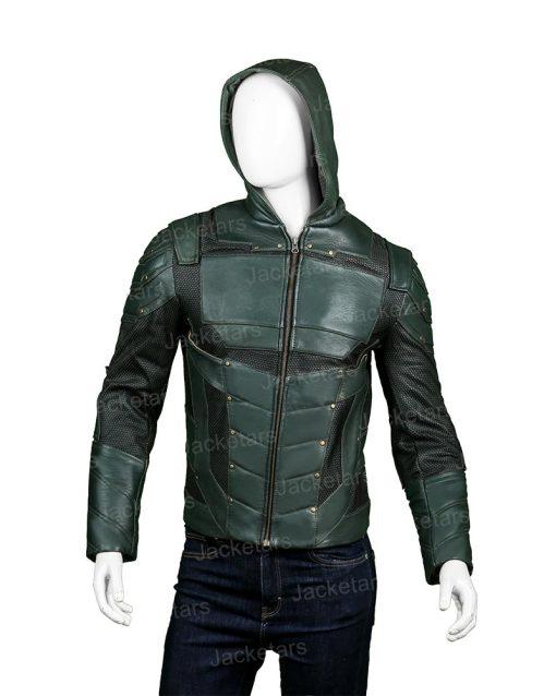 Arrow Seasons 5 Stephen Amell Jacket