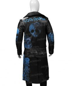 Descendants 3 Hades Leather Coat