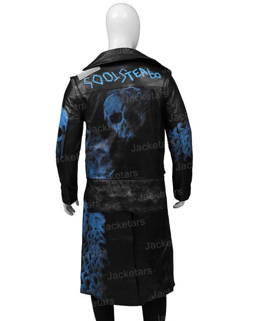 Descendants 3 Hades Leather Coat