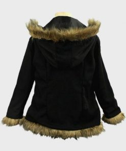 Durarara Izaya Orihara Parka Fur Cotton Jacket