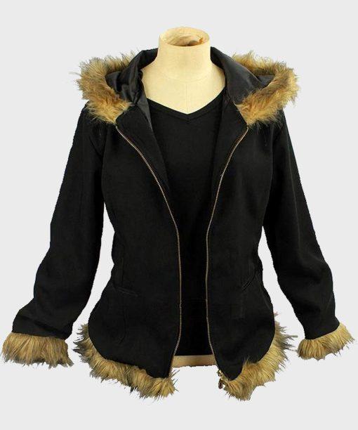 Durarara Izaya Orihara Parka Fur Jacket