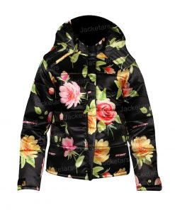 Emily Cooper Emily In Paris Floral Puffer Jacket