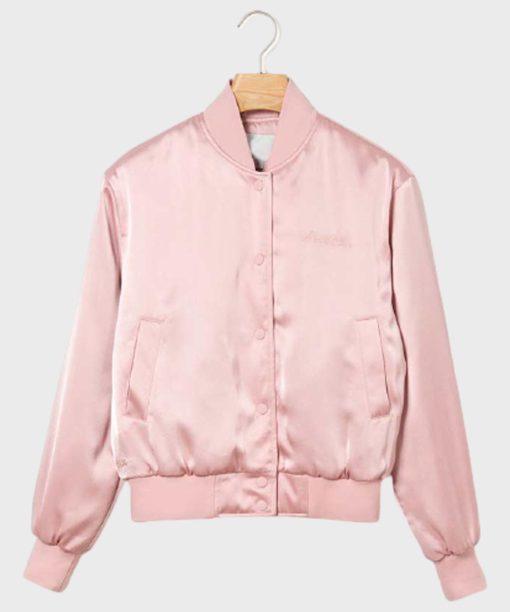 Emily Cooper Emily In Paris Pink Bomber Jacket