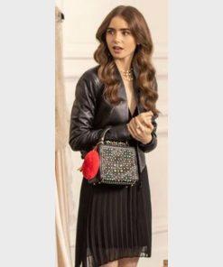 Emily Cooper Emily in Paris Black Jacket