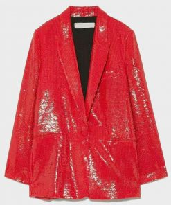 Emily In Paris Emily Cooper Sequin Blazer