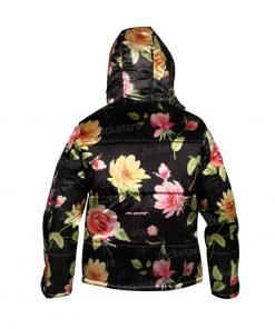 Emily In Paris Floral Puffer Jacket