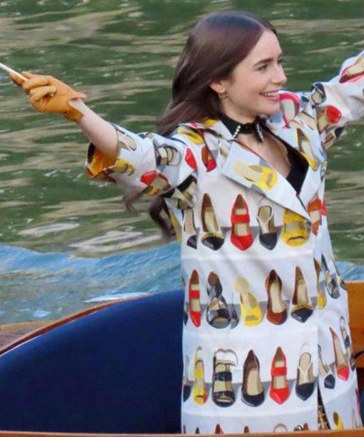 Emily In Paris Trench Coat