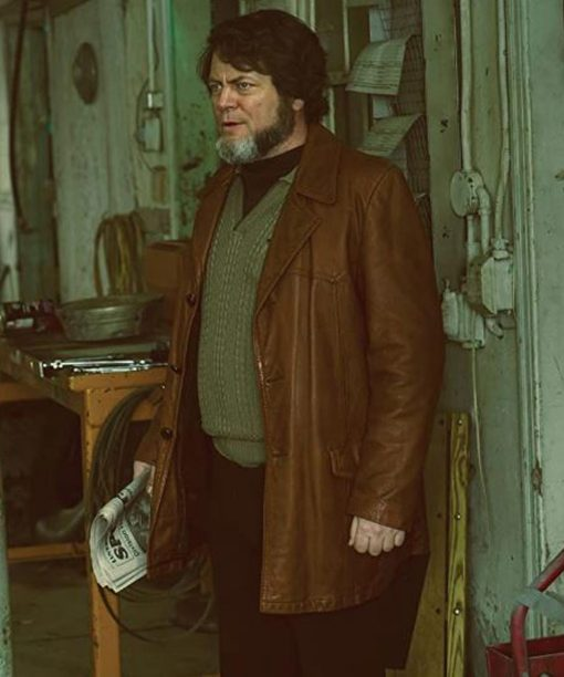 Fargo Karl Weathers Leather Coat