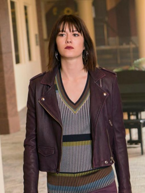 Fargo Nikki Swango Leather Jacket