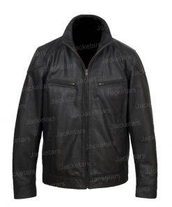 Halloween Black Wings Leather Jacket