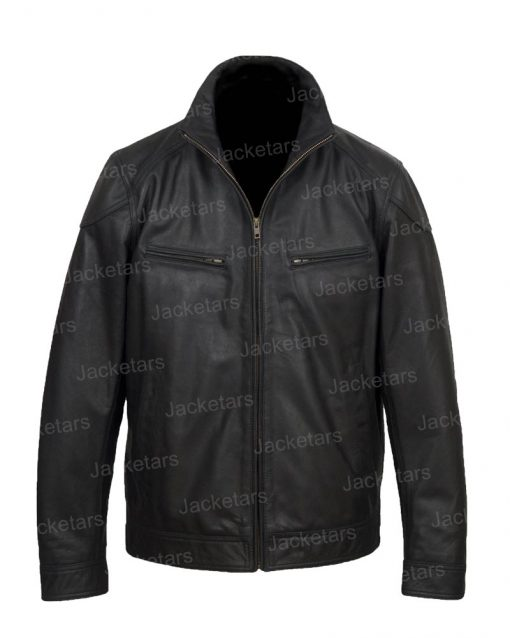 Halloween Black Wings Leather Jacket