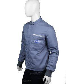 Ken Miles Ford V Ferrari Grey Cotton Jacket.jpg