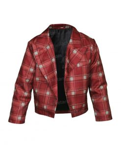 Lily Collins Emily Cooper Emily In Paris Red Plaid Jacket.jpg