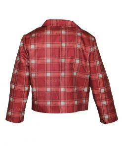 Lily Collins Emily In Paris Red Plaid Jacket.jpg