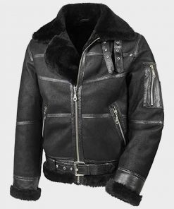 Mens Aviator B16 Shearling Jacket