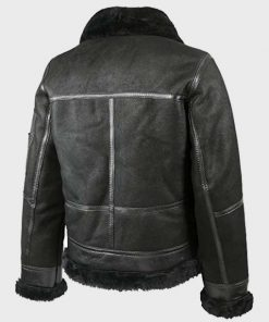 Mens Aviator B16 Shearling Leather Jacket