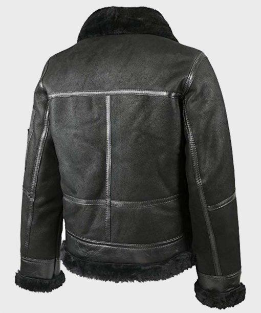Mens Aviator B16 Shearling Leather Jacket