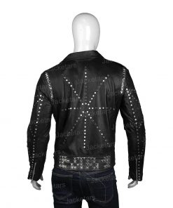 Mens Biker Studded Black Jacket.jpg