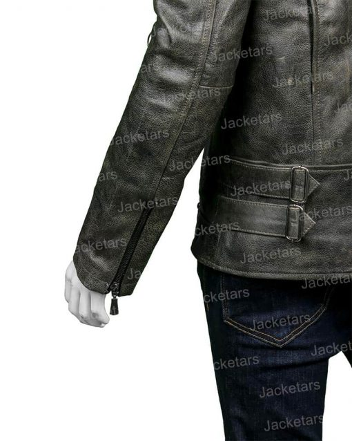 Mens Distressed Leather Black Jacket.jpg