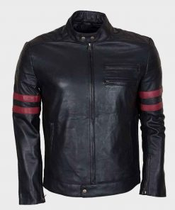 Mens Mayhem Retro Black Jacket