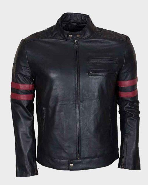 Mens Mayhem Retro Black Jacket