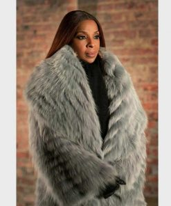 Monet Power Book II Ghost Grey Fur Coat