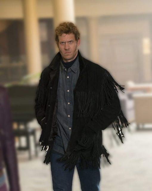 Mr Wrench Fargo Fringe Black Jacket