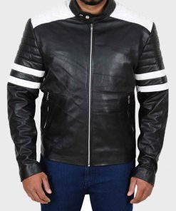 Nerve Ian Leather Jacket