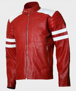 Tyler Durden Fight Club Red Jacket