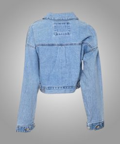 Camille Emily In Paris Cropped Denim Jacket