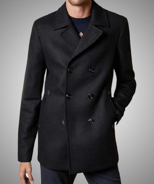 Dash & Lily Dash Black Coat