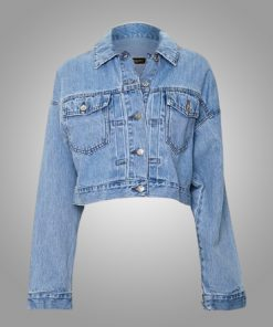 Emily In Paris Camille Cropped Denim Jacket