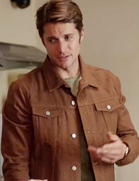 Gabriel Emily in Paris Jacket Brown Jacket