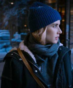 Holidate Emma Roberts Shearling Jacket