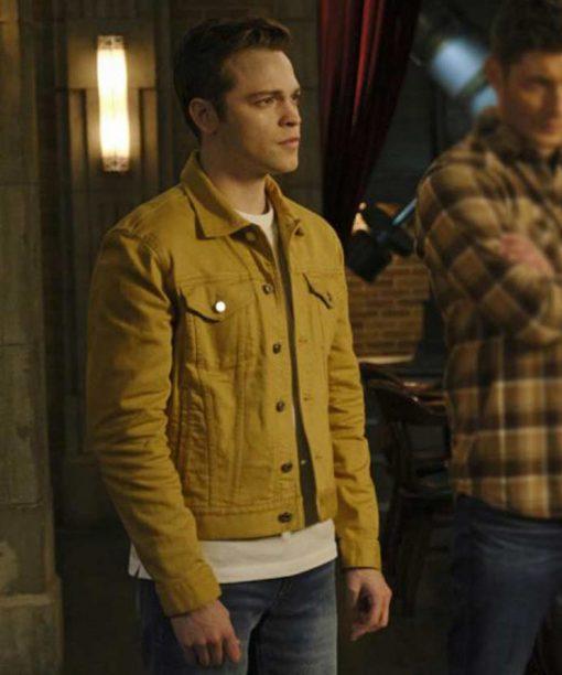 Jack Supernatural S15 Yellow Jacket
