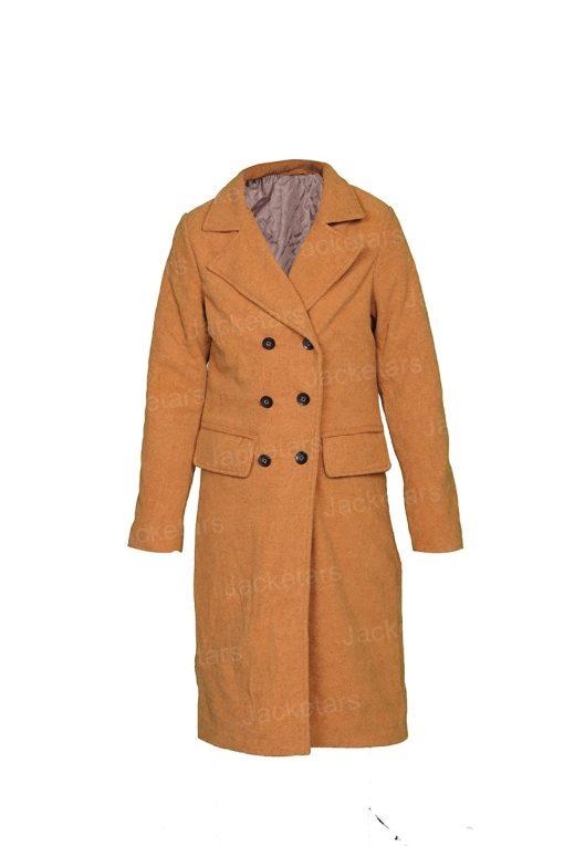Love Guaranteed Susan Camel Coat