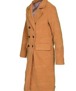 Love Guaranteed Susan Camel Double Breasted Coat.jpg