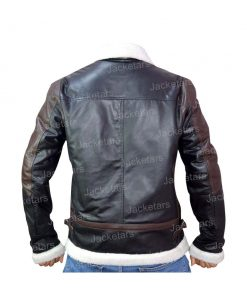 Mens Aviator B3 Black Leather Shearling Jacket.jpg