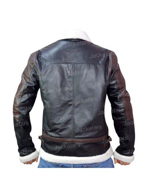 Mens Aviator B3 Black Leather Shearling Jacket.jpg